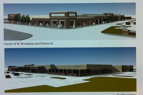 Proposed downtown Green Bay Walmart