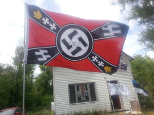 Nazi Flag Leith, ND