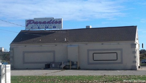 The Paradise Club in Grand Chute is seen, Oct. 23, 2013. (Photo by: FOX 11).