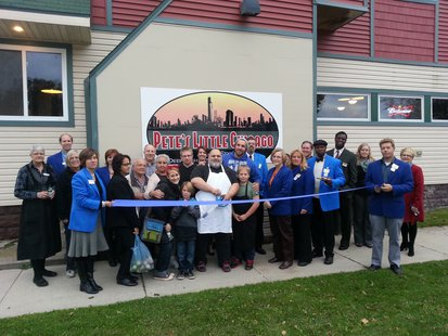 Ribbon Cutting at Pete's