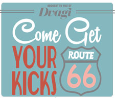 "The Design and Visual Arts Group, Inc. will hold its annual fundraiser Nov. 23, 2013.   This year's theme is ""Come get your kicks on Route 66!""  (SDSU.edu)"