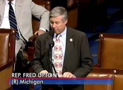 Upton on the Floor of the House