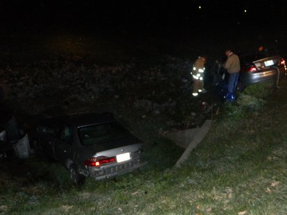 Putnam County crash scene photo provided by Indiana State Police