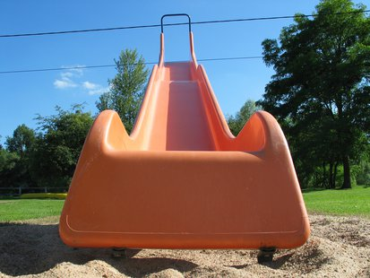 playground slide  file photo