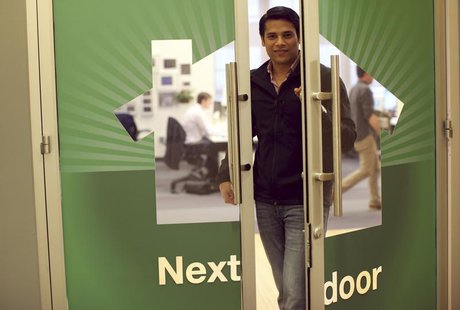 Nextdoor CEO Nirav Tolia poses for a portrait at the company's headquarters in San Francisco, California February 11, 2013. REUTERS/Robert G