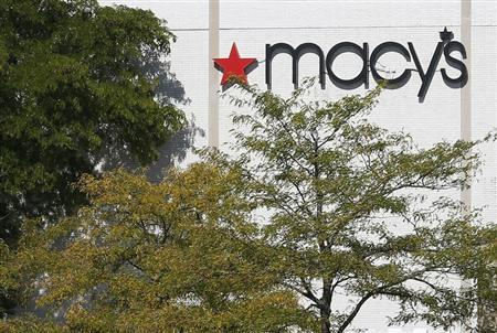 A Macy's store is seen in Schaumburg, Illinois near Chicago, September 23, 2013. Credit: Reuters/Jim Young