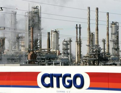 A Citgo refinery in Romeoville, Illinois, near Chicago, is shown on March 3, 2005.