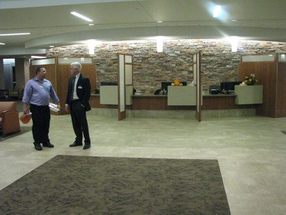 Main lobby at Marshfield Clinic Stevens  Point