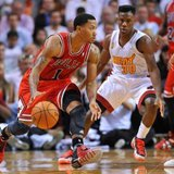Chicago Bulls G Derrick Rose (photo credit Reuters)