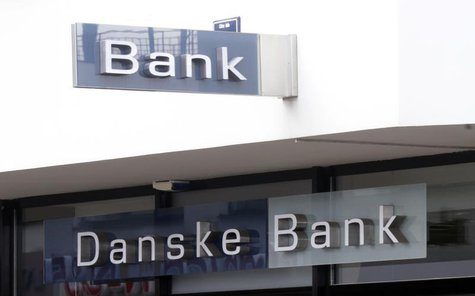Danske bank logo is seen on a branch office in Riga August 1, 2013. REUTERS/Ints Kalnins