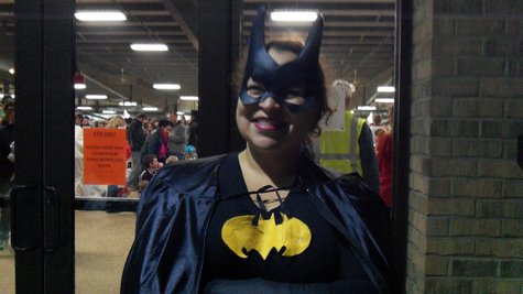 Batperson who doubles as event coordinator