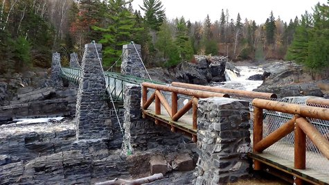 Jay Cooke State Park Swinging Bridge (DNR)
