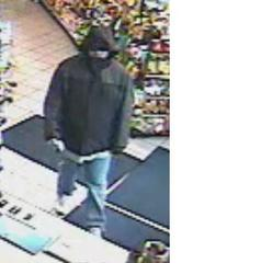 A picture of the suspect who robbed the Clark Station convenience store on Indiana Avenue in Sheboygan November 1, 2013