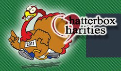 The logo for the Amazing Turkey Trot