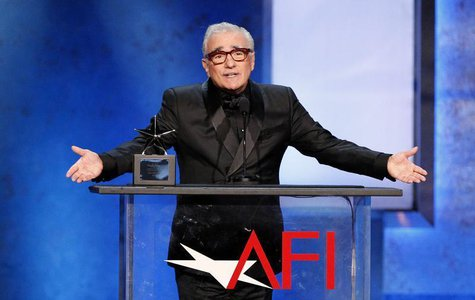 Director and presenter Martin Scorsese speaks at the American Film Institute's 41st Life Achievement Award Gala at the Dolby theatre in Holl