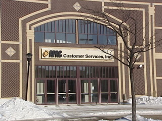 APAC Customer Services Inc. building in downtown Green Bay. (Photo by: FOX 11).`