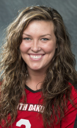 USD MB Natalie Walseth. Photo Courtesy: University of South Dakota