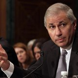 Martin Gruenberg, chairman of the Federal Deposit Insurance Corporation, gestures as he testifies before a Senate Banking, Housing and Urban
