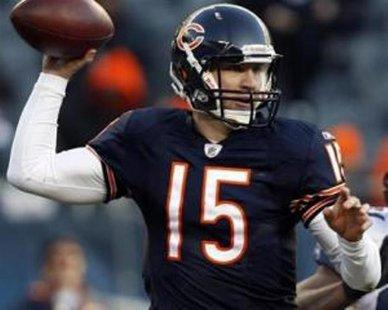 Chicago Bears quarterback Josh McCown REUTERS/Frank Polich