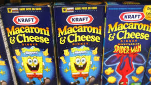 Kraft Mac And Cheese In Kids Shapes