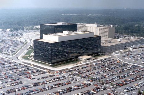 An undated aerial handout photo shows the National Security Agency (NSA) headquarters building in Fort Meade, Maryland. REUTERS/NSA/Handout