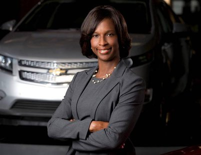 GM customer-service guru Alicia Boler-Davis is pictured in this undated handout photo obtained by Reuters November 5, 2013. REUTERS/John F.