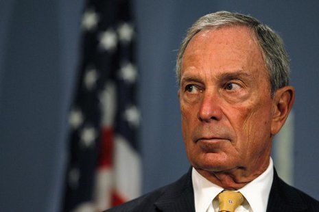 New York City Mayor Michael Bloomberg speaks during a news conference at City Hall in New York, September 18, 2013. REUTERS/Brendan McDermid