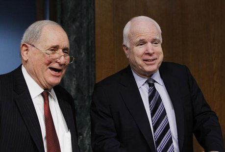 Chairman of the Senate homeland security and governmental affairs investigations subcommittee Carl Levin (D-MI) and ranking member John McCa