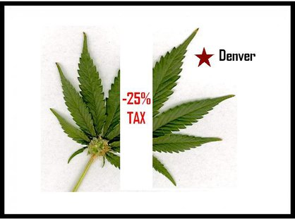Colorado earmarks 40-Million in legalized recreational marijuana sales. (MB Image)