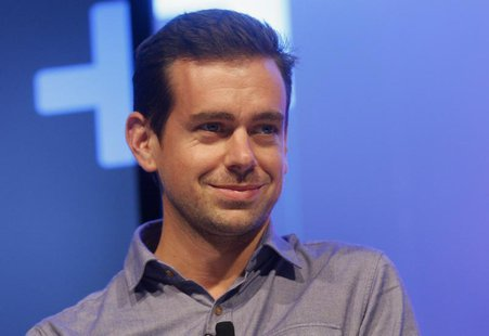 Jack Dorsey, chairman of Twitter and CEO of Square, takes part in the Techonomy Detroit panel discussion held at Wayne State University in D