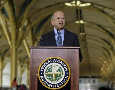 Federal Aviation Administration (FAA) Administrator Michael Huerta discusses the agency's response and recommendations from the Portable Ele