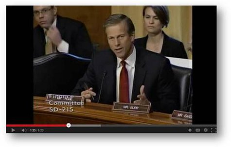 Senator John Thune, questioned Health and Human Services Secretary Kathleen Sebelius about the disastrous rollout of healthcare.gov. (SD.Thune.gov)