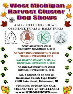 West Michigan Harvest Cluster AKC Dog Show