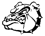 Union High School Bull Dog logo