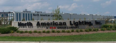 North American Lighting Paris Plant