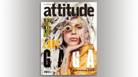 Image courtesy of Courtesy: Attitude Mag (via ABC News Radio)