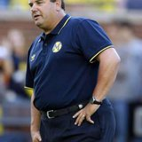 Michigan Wolverines head coach Brady Hoke