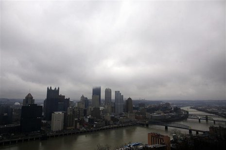 General view of the city of Pittsburgh, Pennsylvania April 8, 2011. REUTERS/Eric Thayer