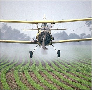 crop duster file photo
