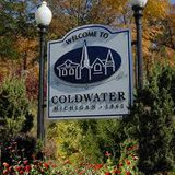 City of Coldwater sign