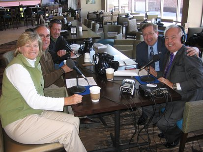 Coralee Jorgensen, 1st Tee, Randy Derheim, Pinnacle, Paul Doherty, Golf Etc and Mayor Mike Huether join Bill Zortman on his 500th It's Your Business show from the new Hilton Garden, Downtown Sioux Falls.