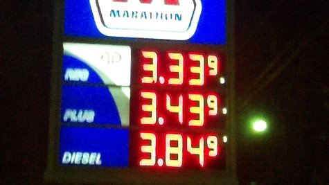 Gas prices bounce back up, but it may be temporary