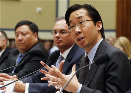 "U.S. Chief Technology Officer at The White House Office of Science and Technology Policy Todd Park testifies before the House Oversight and Government Reform Committee hearing on ""ObamaCare"" More... CREDIT: REUTERS/LARRY DOWNING"