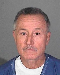 Mark Berndt is shown in this Los Angeles Sheriff Department booking mug released to Reuters January 31, 2012. REUTERS/Los Angeles Sheriffs D