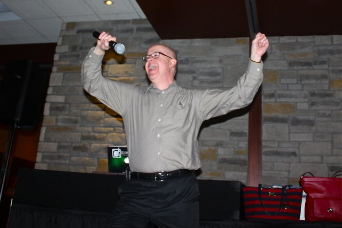 Our lip-sync winner Kevin Murphy who rocked the song Wannabe by the Spice Girls. (**He was the first Lip Sync winner in history who didn't know one word of the song he was doing**)