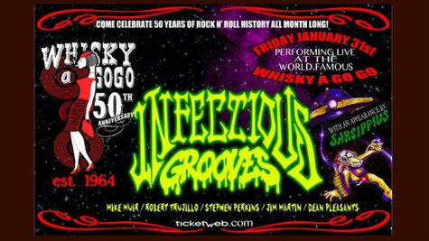 Image courtesy of Facebook.com/Infectious.Grooves (via ABC News Radio)