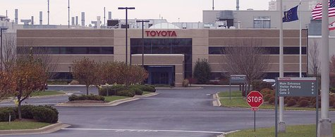 Toyota Gibson County Indiana front entrance