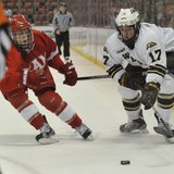 WMU Hockey v Denver. Photo courtesy of WMU Athletics