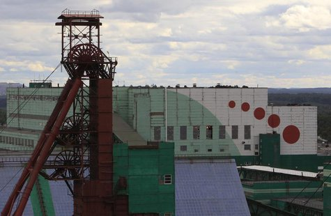 A general view of a Uralkali potash mine near the city of Berezniki in the Perm region close to Russia's Ural mountains August 25, 2013. REU
