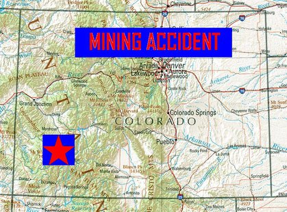 Two miners were killed and 20 injured on Sunday in an accident at a silver mine in southwestern Colorado. (MB Image)